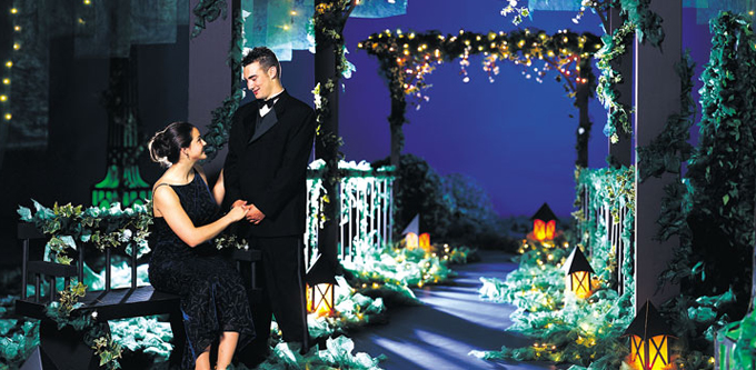 Garden Prom Themes