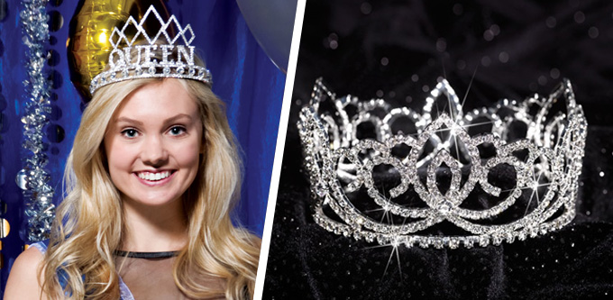 prom homecoming tiaras tiara styles for every budget anderson s