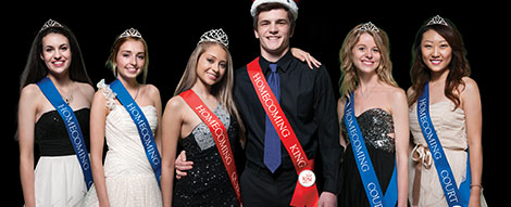 Homecoming Court Sets
