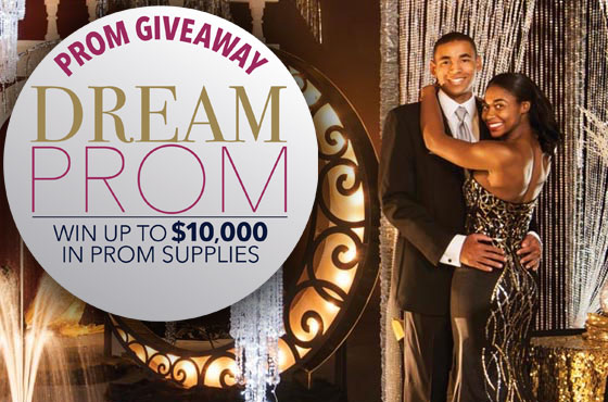 Dream Prom Giveaway! Click for more info.