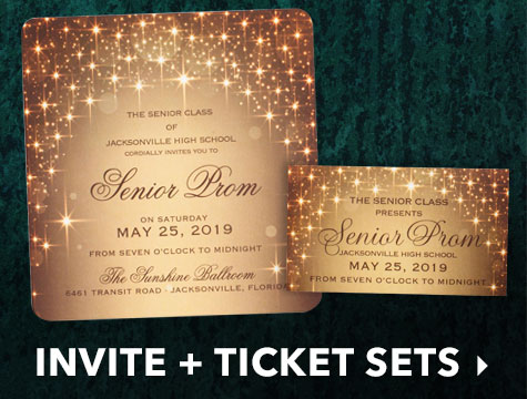 Prom Invitations Customizable Prom Invitation Ideas Anderson S