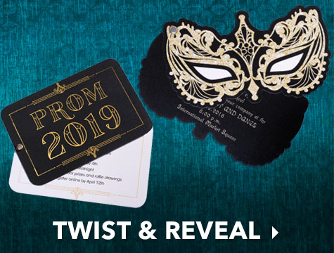 Twist & Reveal Invitations