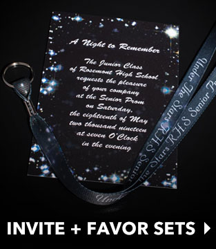 Invitations + Favor Sets