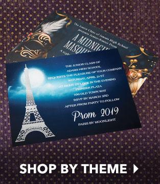 prom invitations customizable prom invitation ideas anderson s
