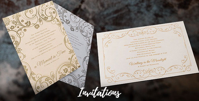 Prom Invitations Customizable Prom Invitation Ideas Andersons