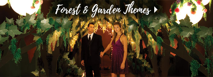 Forest and Garden Prom Themes