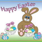0793 - Easter Bunny & Eggs