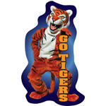 1133 - Go Tigers Wall Sticker