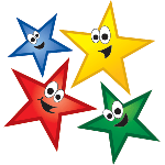 1379 - Smiley Stars Background