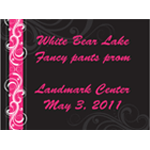 1828 - Black and Pink filigree