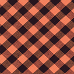 2403 - orange plaid
