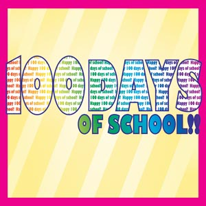 3506 - 100 days of school color