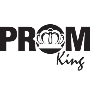 3789 - Prom King Button Graphic