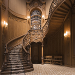 3886 - Grand Staircase Backgrou