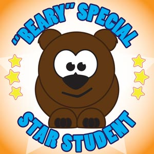 4173 - Beary Special Star Stude