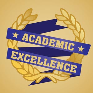 4667 - Academic Excellence Ribb