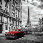 4720 - Paris with Red Car Graph