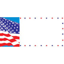 0165 - Flag with Star Border