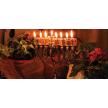 0208 - Lighted Menorah