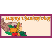 0853 - Thanksgiving Cornucopia