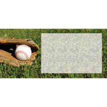 1491 - Baseball & Mitt in grass