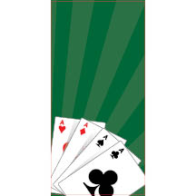 1263 - Playing Card Aces Backgr