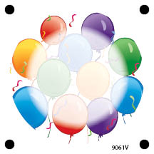 1367 - Celebration Balloons Bac
