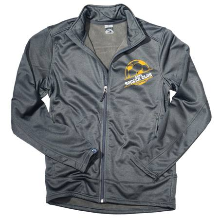Men's Heather Performance Fleece Jacket