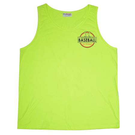 Men's Neon Colored Tank Top-Screen Printed