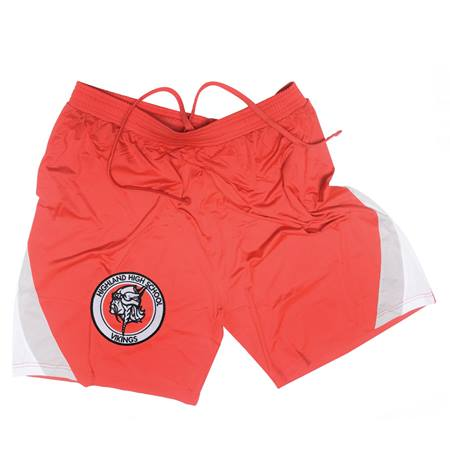 Men's Embroidered Tournament Shorts