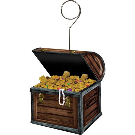 Treasure Chest Photo & Balloon Holder