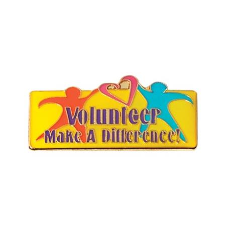 Volunteer Award Pin – Make a Difference