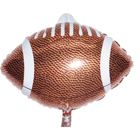 Foil Football Balloon