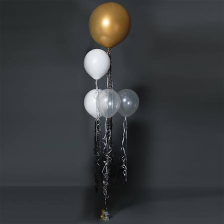 Gold Balloon Bouquet Kit