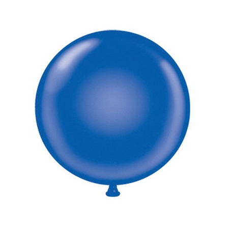 36 in. Jumbo Blue Balloon