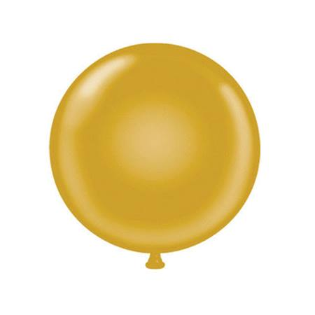 36 in. Jumbo Gold Balloon
