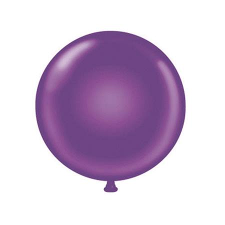 36 in. Jumbo Purple Balloon