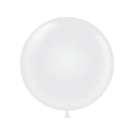 60 in. Jumbo White Balloon