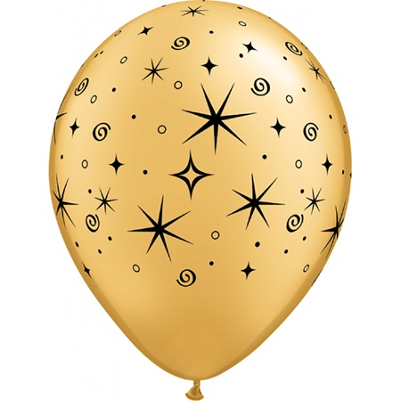 Sparkles and Swirls balloons-11 in.