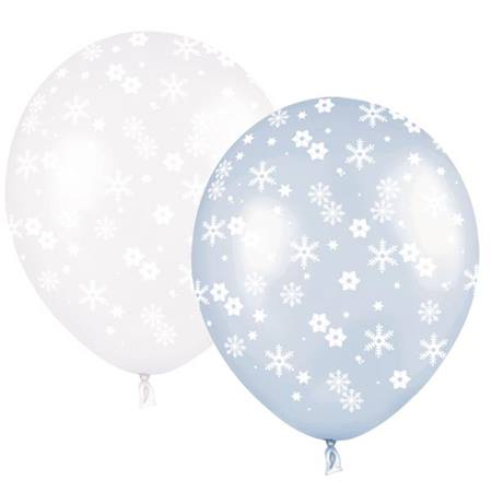 Snowflake Latex Balloons, 11 in.