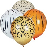 11 in Animal Print Balloons
