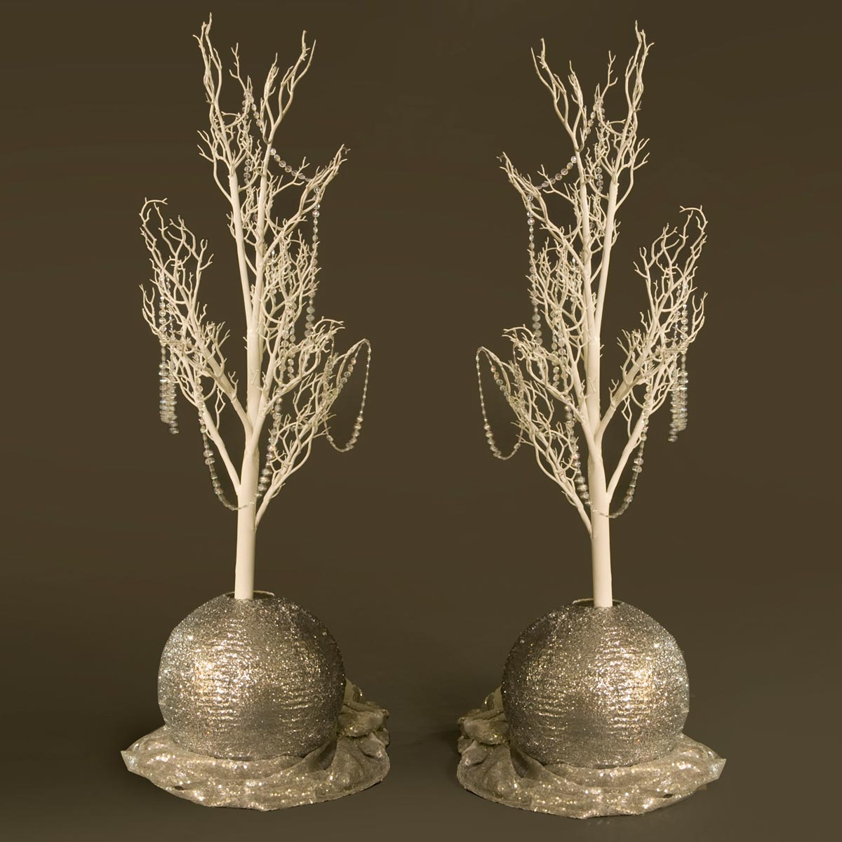 Razzle Dazzle Silver Centerpieces Kit (set of 2)