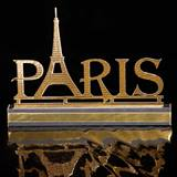 Chic Paris Centerpieces Kit (set of 4)