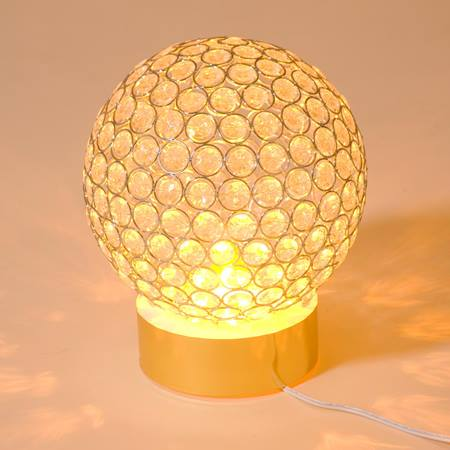 Golden Light Globe Centerpiece Kit