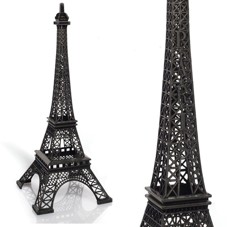 Eiffel Tower Centerpiece - Black