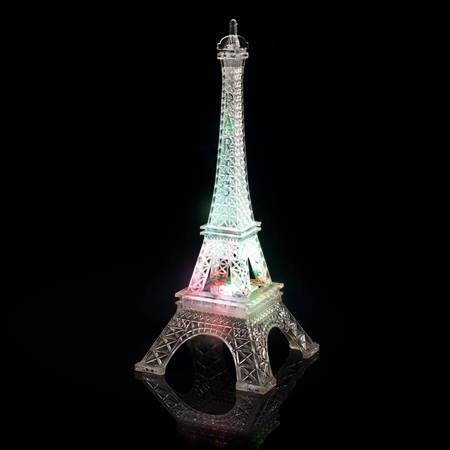 Color-changing LED Eiffel Tower Centerpiece
