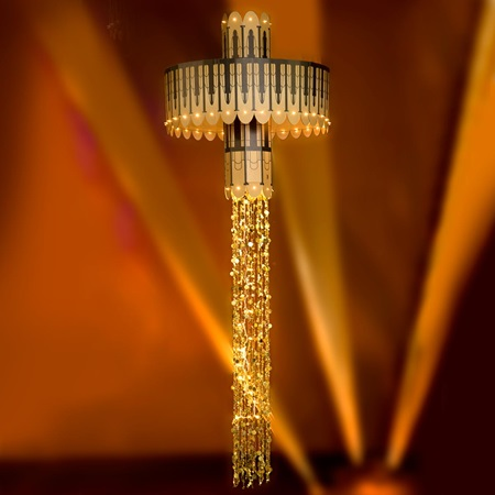 Jazzle Dazzle Chandelier Kit With Lights