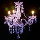 Three-Arm Crystal Chandelier Kit