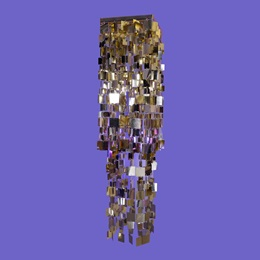 Gold Mosaic Chandelier Kit