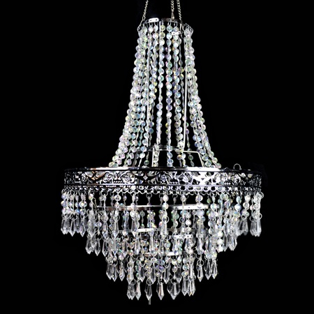 Crystal Lampshade Chandelier